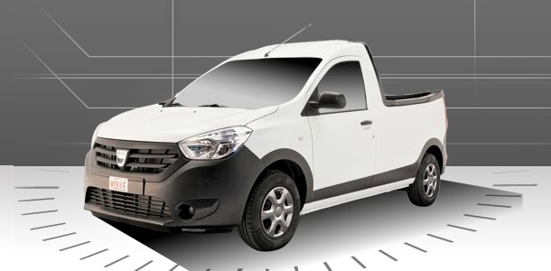 Dacia Dokker Pick-Up by Dokker
