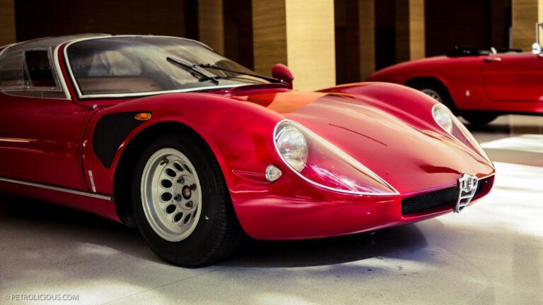 Alfa Romeo's dream garage