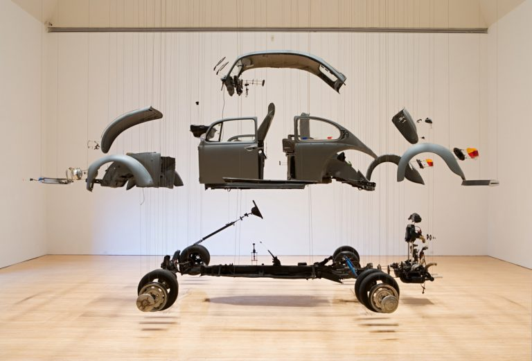 The Beetle explosion, by Damián Ortega