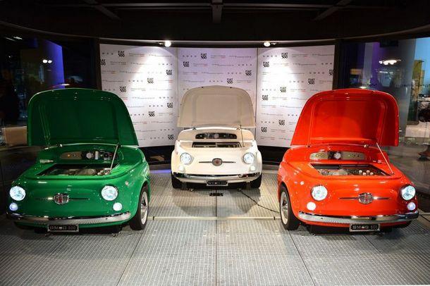 Fiat 500 & SMEG made it fun