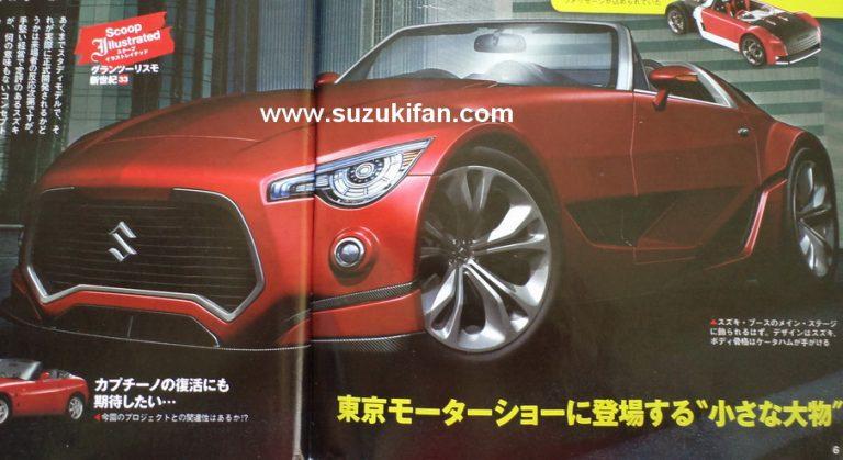 Vom avea un nou Suzuki Cappuccino din 2016?