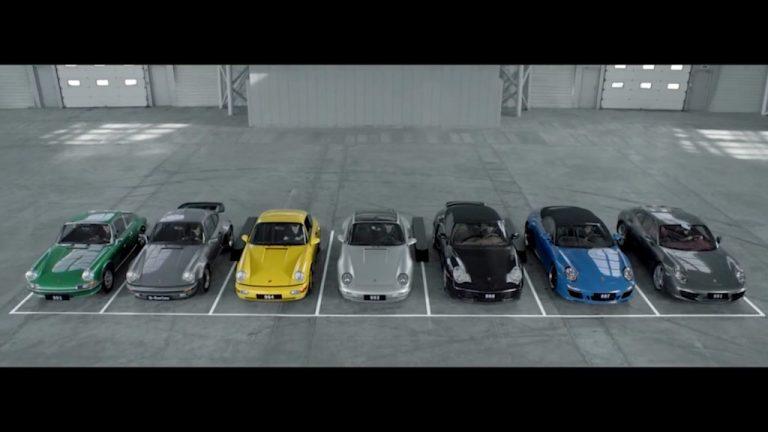 50 years anniversary: Happy Birthday, Porsche 911!
