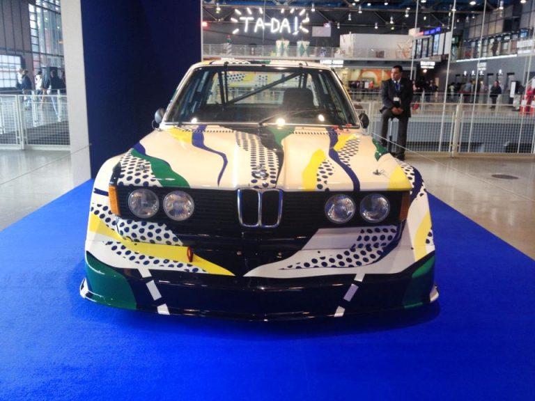 """Roy Lichtenstein for BMW –  320i E21 """"art-car"""""""