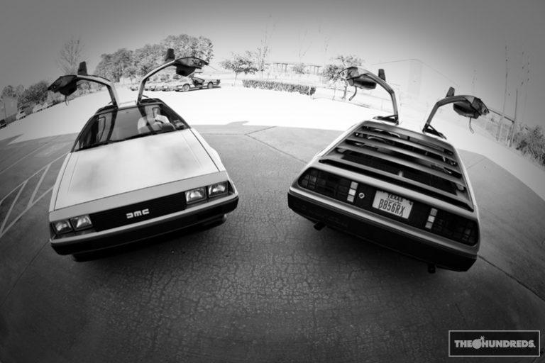 Back to the Future, with DeLorean DMC-12