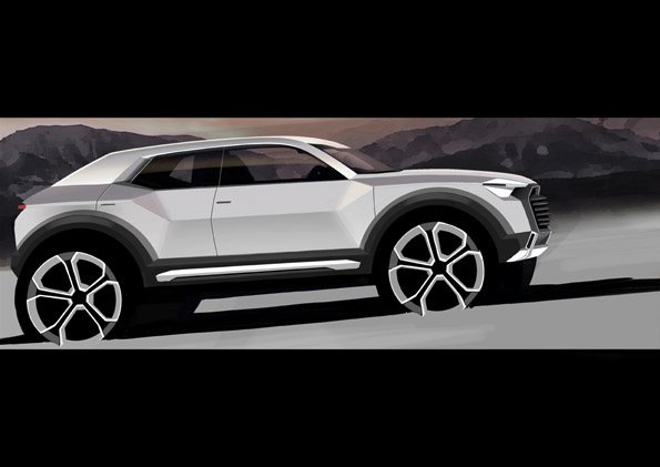 Fresh out of the oven: Audi Q1