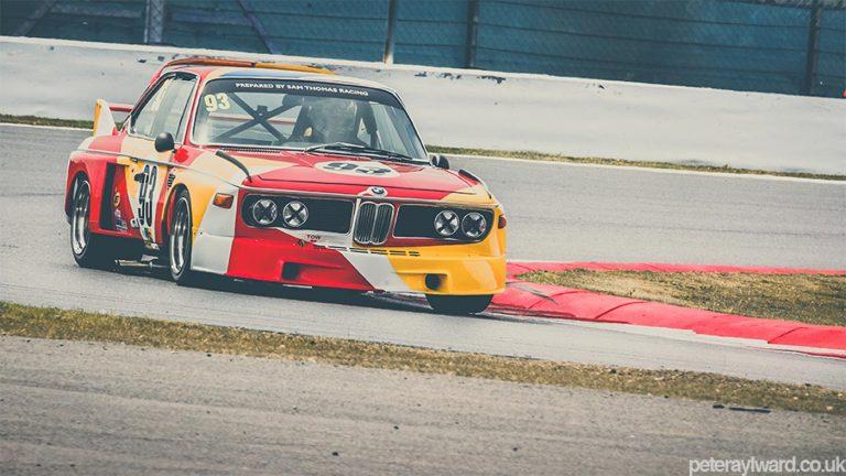 BMW 3.0 CSL – Speeding Art Exhibit