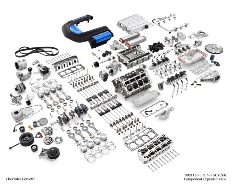 LS9 638 bhp (476 kW)