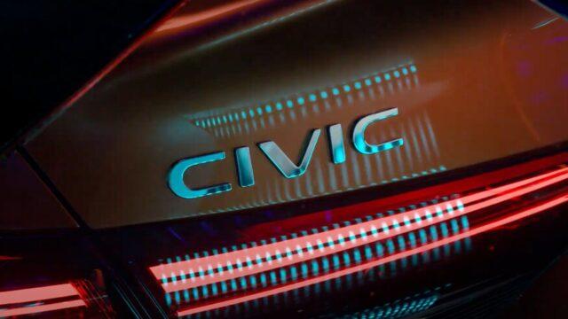 Honda Civic XI prototype