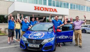 Guinness World Records for Honda Civic Tourer