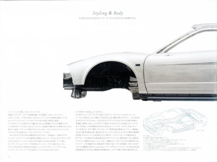 1992 HONDA NSX JAPAN OFFICIAL BROCHURE