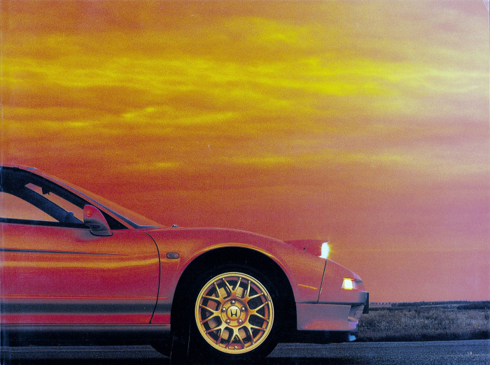 1992 HONDA NSX JAPAN OFFICIAL BROCHURE