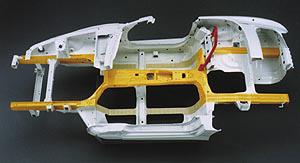 Honda S2000 x bone structure