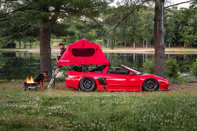 NA1 Acura NSX Camper