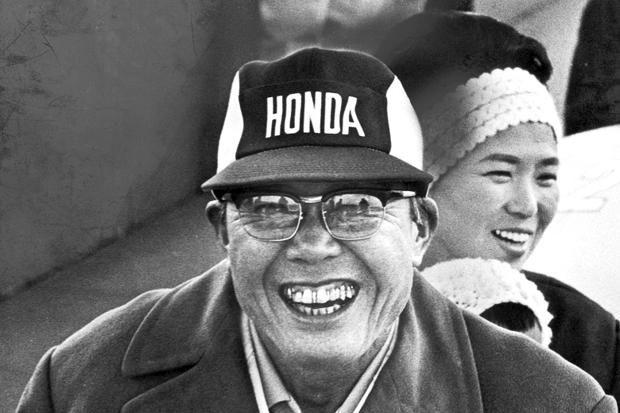 Soichiro Honda – the man that changed it all.